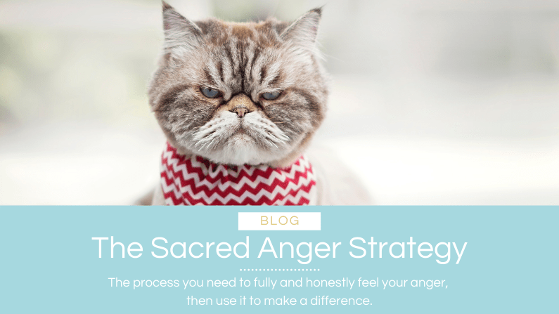 The Sacred Anger Strategy